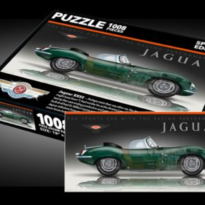 Sports Car Art - Jaguar XKSS Puzzles