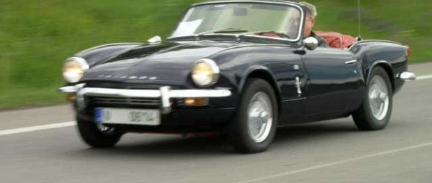 Triumph Spitfire designed by Giovanni Michelotti