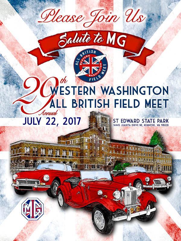 Western Washington All British Field Meet 2017