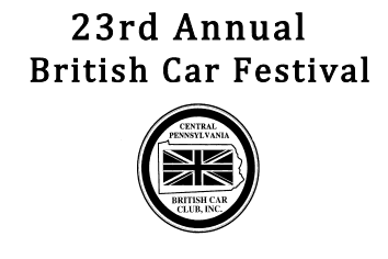22nd annual Central PA British Car Festival