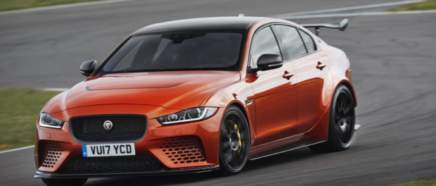 New Jaguar XE SV Project