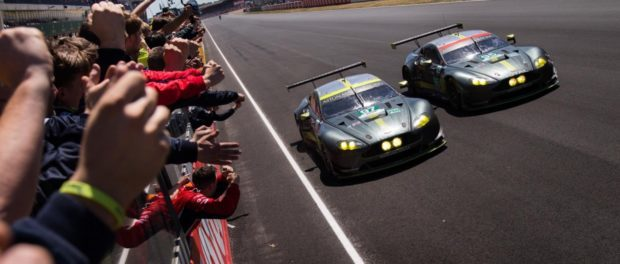 Aston Martin Racing Victory at Le Mans Le Mans 2017_180617_01