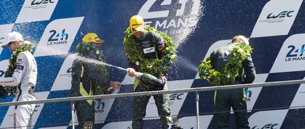 Aston Martin Racing Victory at Le Mans Le Mans 2017_180617_03
