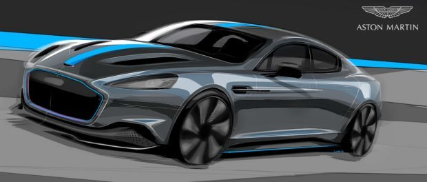 Aston Martin confirms production of first all-electric model RapidE