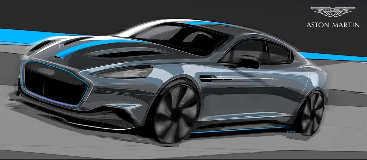 Aston Martin confirms production of first all-electric model RapidE_01