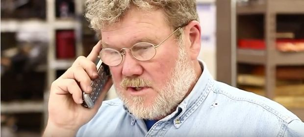 John Twist takes a technical call 1