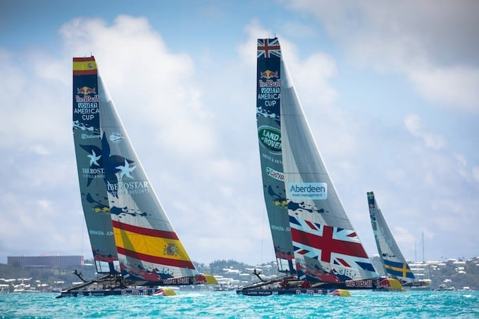Land Rover BAR Academy team secure victory in the Red Bull Youth America's Cup in Bermuda