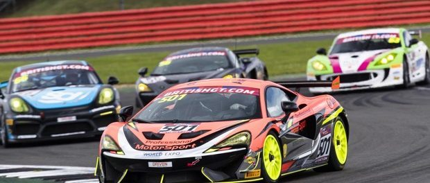 McLaren 570S GT4 Takes Victory at Silverstone - 2017 British GT Rd4 Silverstone-2293