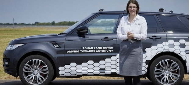 RISING JAGUAR LAND ROVER STAR AMY RIMMER WINS AUTOCAR'S GREAT BRITISH WOMEN AWARD