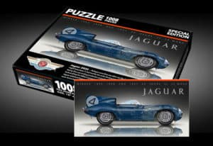 Sports Car Art - Jaguar D-Type Puzzle