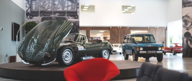 Jaguar Land Rover classic works launch