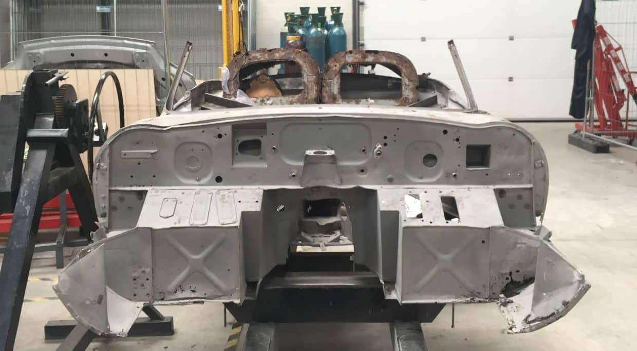 1961 Jaguar E-Type Chassis 875256 to be restored by Classic Motor Cars_2