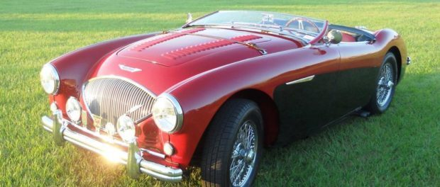 56 Austin Healey 100M 1st entry