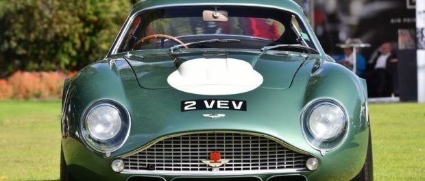 Aston Martin DB4GT Zagato - Astons featured at Concours of Elegance