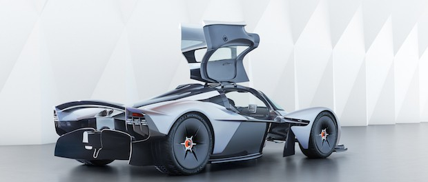 Aston Martin Valkyrie Design