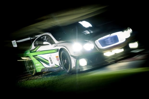 BENTLEY TAKES 24 HOURS OF SPA PODIUM 1