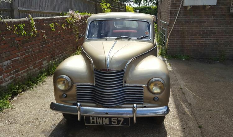 Brian May Jowett Javelin