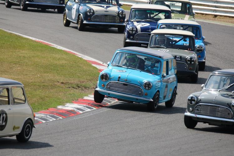 Burlen LTD celebrates monumental success of the SU Carburetters Cup at Brands Hatch Mini Festival
