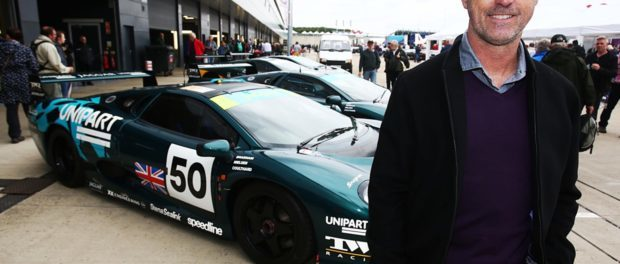 David Brabham reunited with his Le Mans 'winning' XJ220C