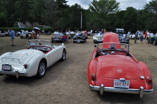 MG Car Day and Rover Day at Larz Anderson Auto Museum