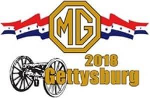 NAMGBR's MG 2018 in Gettysburg PA