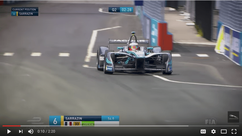 Panasonic Jaguar Racing Formula E New York City Race One Highlights