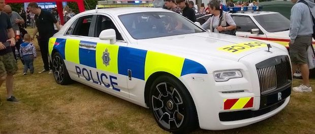 Rolls-Royce Motor Cars Supports Sussex Police