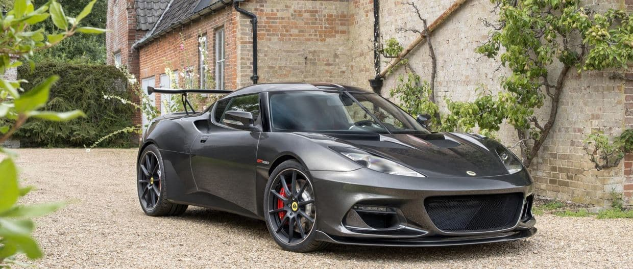 The new Lotus Evora GT430