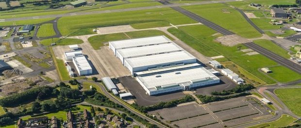 Aston Martin in St Athan - Work begins on conversion of Super Hangars (1)
