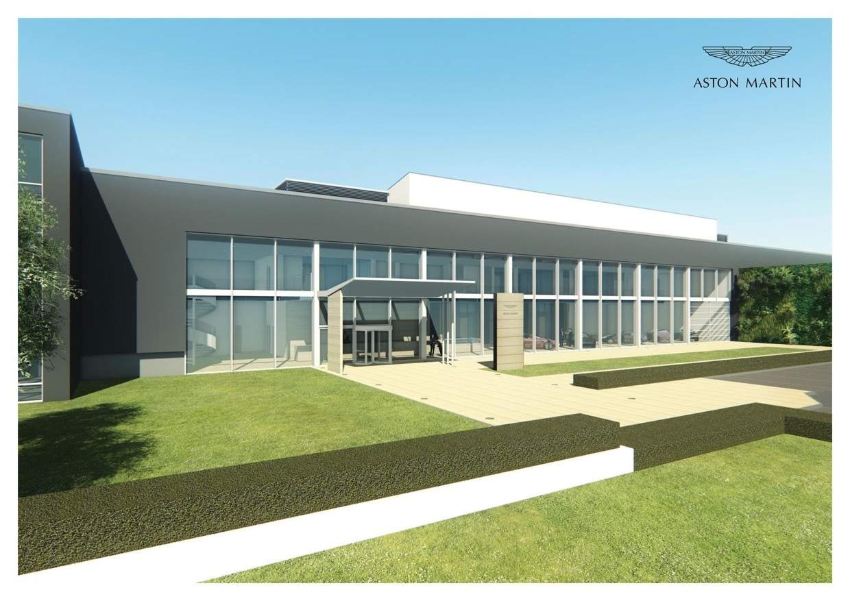 Aston Martin in St Athan - Work begins on conversion of Super Hangars (3)