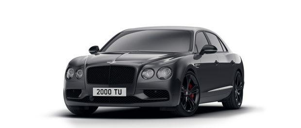 Bentley Announces Flying Spur V8 S Black Edition 2
