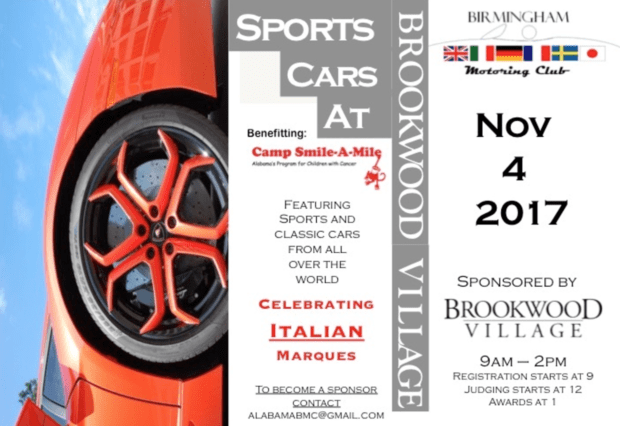 Birmingham Motoring Club's Annual Car Show