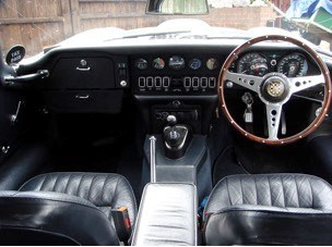 The E-Type's interior is testament to many years of loving care