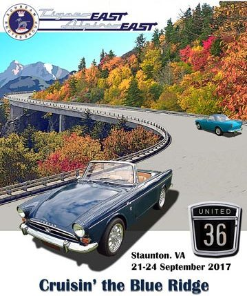 United 36 Sunbeam Alpine East Tigers East