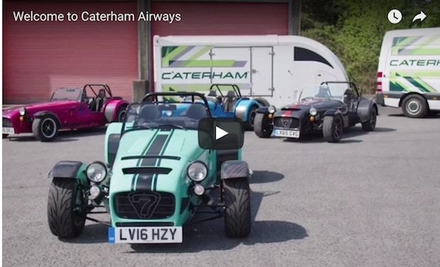 VotW - Welcome to Caterham Airways