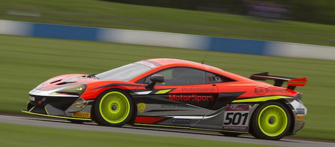 2017 British GT Rd7 Donington - The McLaren 570S GT4 continues stellar debut full season with fourth championship title