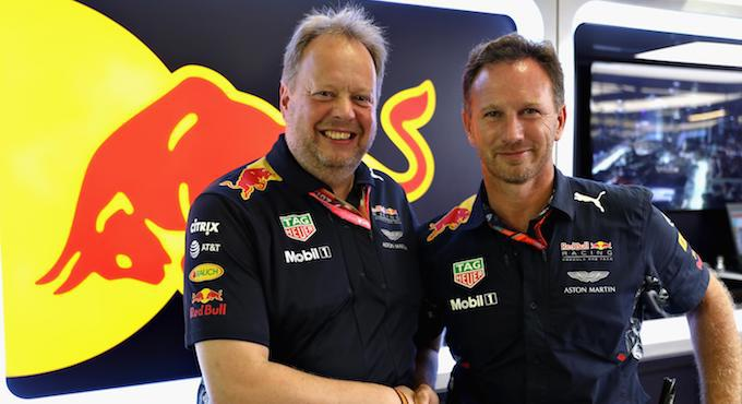 Andy Palmer and Christian Horner - Aston Martin and Red Bull Racing Strengthen F1 Partnership