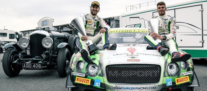 Bentley Continental GT3 Wins British GT Championship