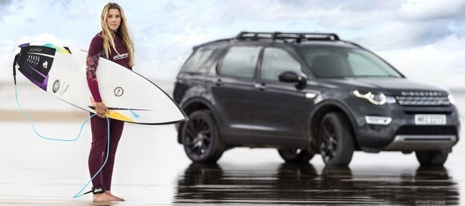 FROM WASTE TO WAVE - JAGUAR LAND ROVER LAUNCHES SURFBOARD MADE FROM RECYCLED PLASTIC - Lucy Campbell