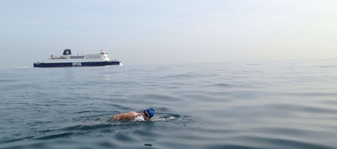 Jaguar Land Rover Channel Swim Challenge raises £185,000 for Ben