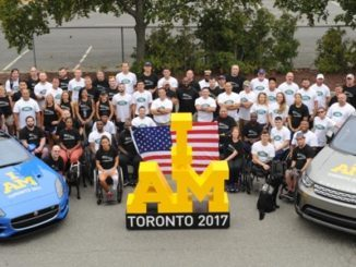 JAGUAR LAND ROVER NORTH AMERICA CELRBRATES U.S. ARMED FORCES TEAM AT NEW YORK SEND-OFF EVENT AHEAD OF INVICTUS GAMES TORONTO 2017