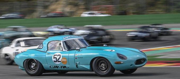 Jaguar Classic Challenge Season Concludes at Spa