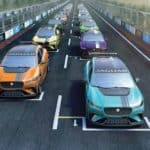 Jaguar I PACE eTROPHY 20 Grid