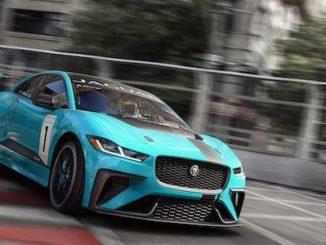 Jaguar I-PACE eTROPHY racecar track (1)