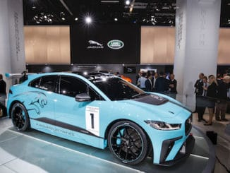Jaguar Unveils I-PACE Race Car