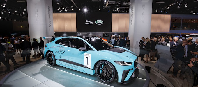 Jaguar Unveils I-PACE Race Car