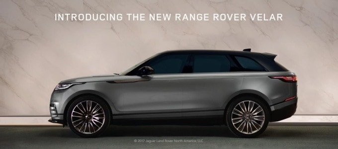 Land Rover Launches New Range Rover Velar Marketing Campaign