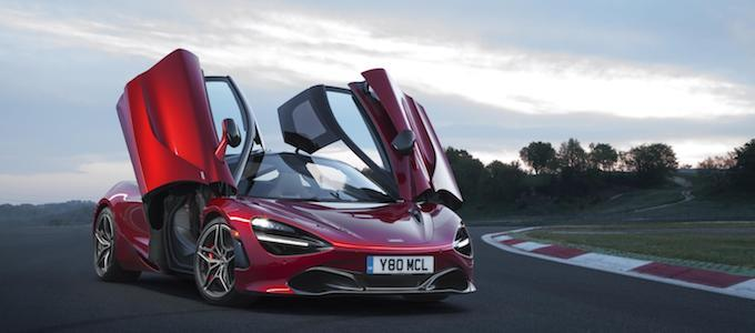 McLaren 720S in Memphis Red - McLaren Participating at Chantilly Arts & Elegance