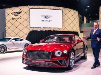 NEW CONTINENTAL GT DEBUTS IN FRANKFURT