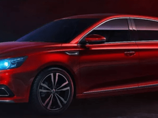 New MG 6 Debuts in China
